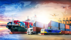 Transport in Export and import from Vietnam